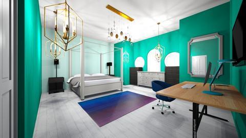 Master Room - Bedroom - by skye245_