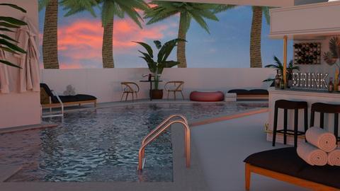 luxurious pool - by nitya_avvari
