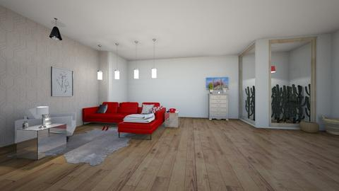 For designkitty31 - Modern - Living room  - by matildabeast