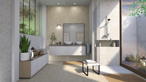 IP Terrazzo - Minimal - Bathroom - by Mandine