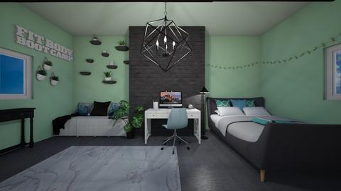 Chilling teen room - Bedroom - by Muneesssssss