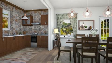 M_Kitchen for family - Kitchen  - by milyca8