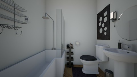 first atempt - Minimal - Bathroom  - by mariana andreea mateescu