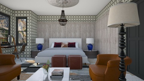 Hipsterstay Hotel Room - Modern - Bedroom  - by 3rdfloor