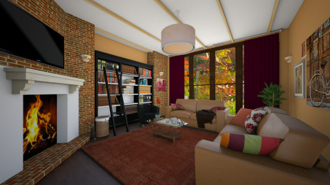 Autumn Living Room - Classic - Living room - by Bee0196