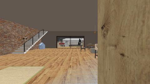 big  2 level rustic house - Rustic - by juhasz_l