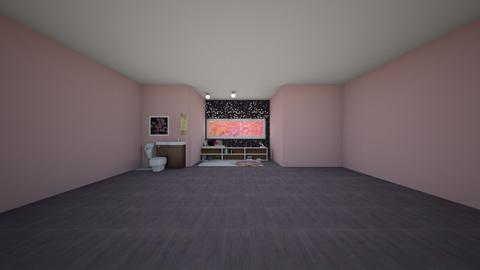 cherry blossom  - Classic - Bathroom  - by starpolion35