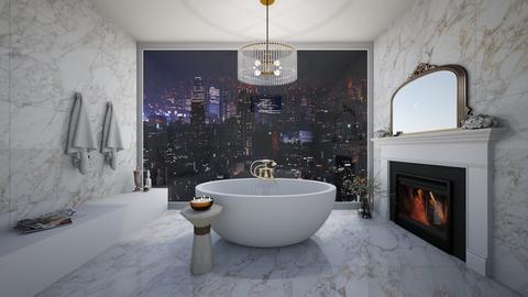 bathroom with a view - Bathroom  - by erladisgudmunds