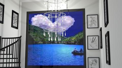 Love a chandelier - by Karen Priest