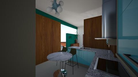keuken _ nieuw_7_eettuin - Kitchen  - by iene