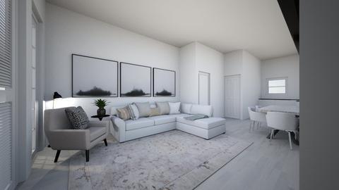 Lounge white wash floor 2 - Living room  - by mbennett111