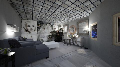 monroe glam - Glamour - Bedroom  - by faylynn96
