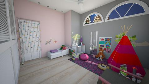 House1 Montessori Nursery - Modern - Kids room - by Leticia Camargo_175