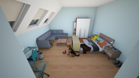 messy loft - Modern - Bedroom  - by Me12345678900