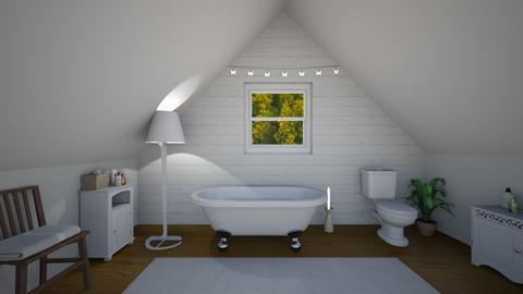 attic bathroom - Classic - Bathroom  - by charlottefolk