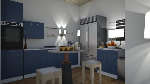 Modern Kitchen - Modern - Kitchen  - by Richiboy25