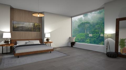 rainforest bedroom - Minimal - Bedroom  - by maliajp