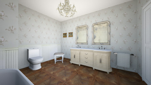 Country Bathroom - Country - Bathroom  - by Nilgun Batukan