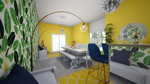 funky dinning room - Dining room  - by kazx