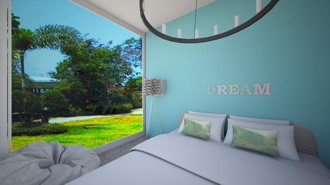 Simple things - Minimal - Bedroom  - by R A I N A
