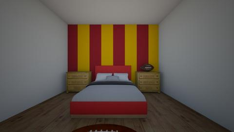 foot ball - Bedroom - by jesspeters
