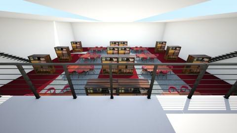 Library - by interiordesignmajor013