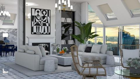 s1234 - Living room  - by AlSudairy S
