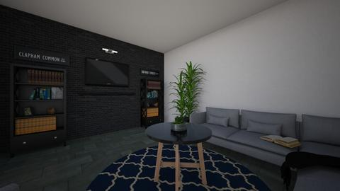 uris first level floor - Modern - Living room  - by PugCentral