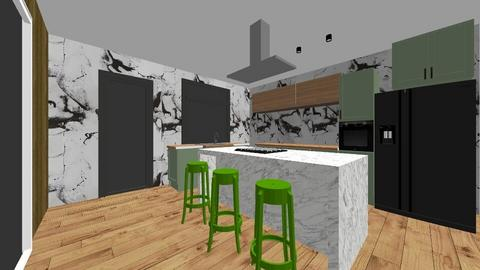 kitchen design - Feminine - Kitchen  - by adina_fele
