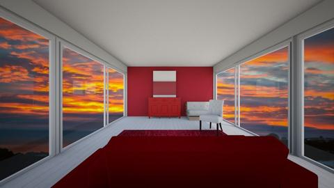 Red pallet room - Bedroom  - by rona123