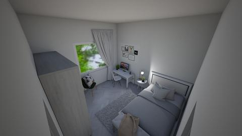Small Bedroom 20 - Modern - Bedroom  - by Khayla Simpson