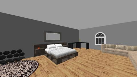 bedroom - by kara hacker