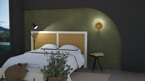 Feature Wall - Bedroom  - by SunflowerStudios