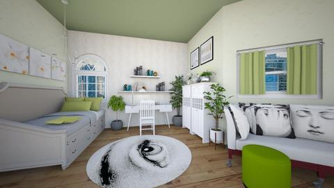 Dorm room - Bedroom  - by Fatmahani