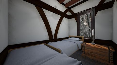 Medieval Inn - Bedroom  - by SammyJPili