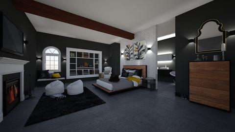 Calm Retreat Bedroom  - Bedroom  - by tgriff06