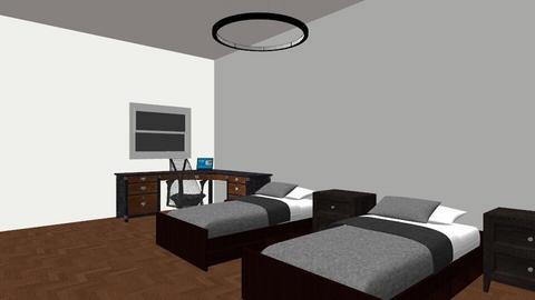 Chambre 1 VtM - Modern - Bedroom - by phenixon