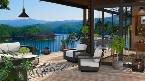 Top of the World 3 Patio - Living room  - by GraceKathryn