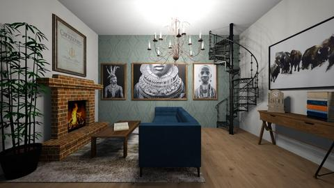 Art Deco - Living room  - by brownbox