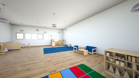 Preschool Classroom - by bpalandati