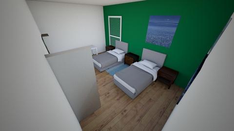 LG room - Bedroom  - by Zedompia