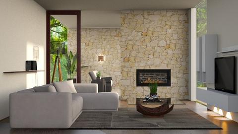 sala minima - Living room  - by soralobo