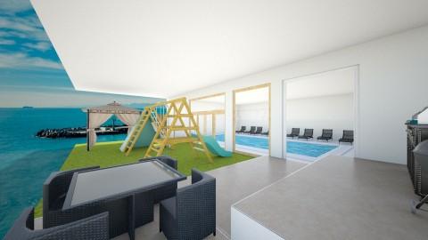 club house - Modern - by Mariana Ortiz