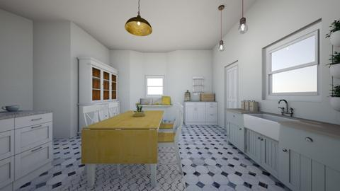 Our kitchen 2_0 - Classic - Kitchen  - by evabarrett