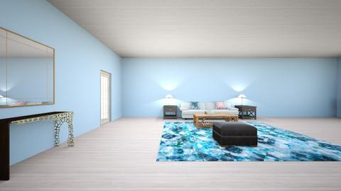 Turquoise and metal Livin - Living room - by rodrio   12244