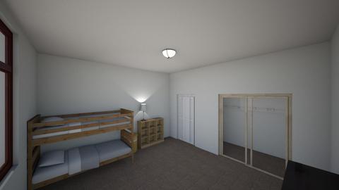 My Room - Bedroom  - by scotwyatt