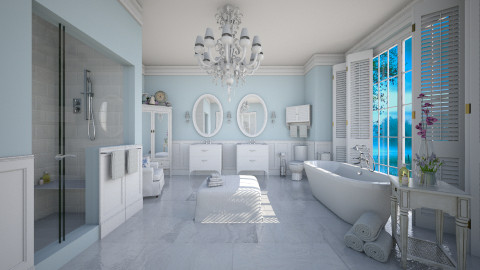 Traditional Bath - Bathroom  - by crosette