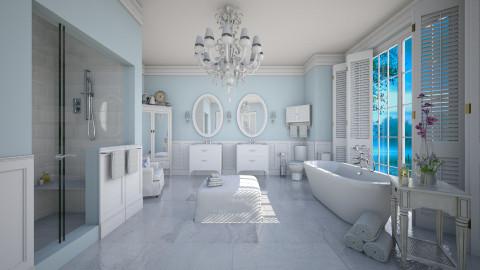 Traditional Bath - Bathroom - by crosette
