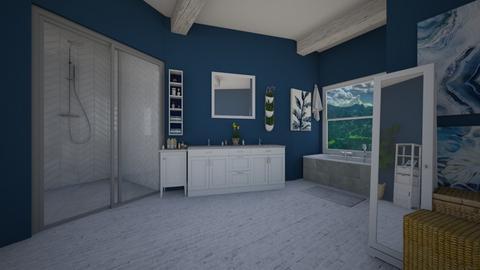Farmhouse Bathroom - Bathroom  - by Natalie222