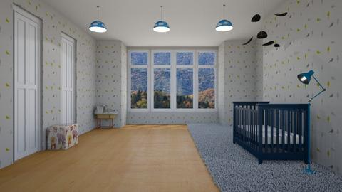 Nursery_Baby Boy - Masculine - Kids room  - by srmagi